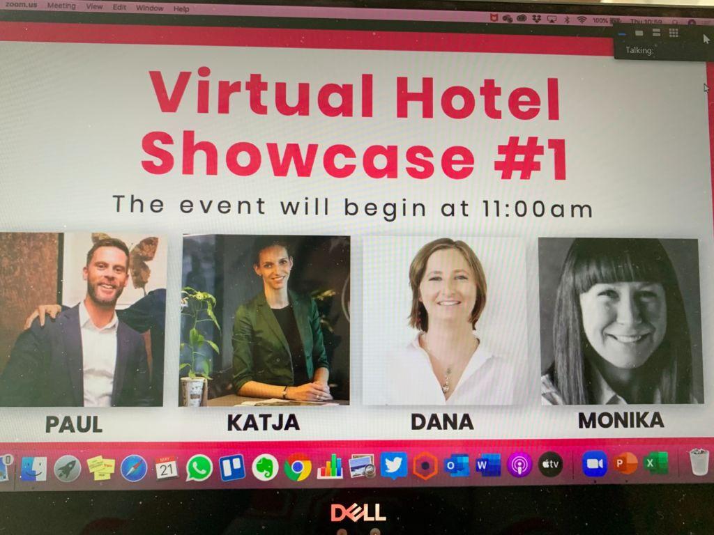 Virtual Hotel Showcase